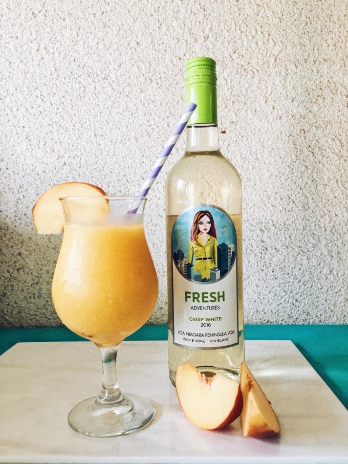 FRESH Wines - Peach Wine Slush - MousseTaco.com
