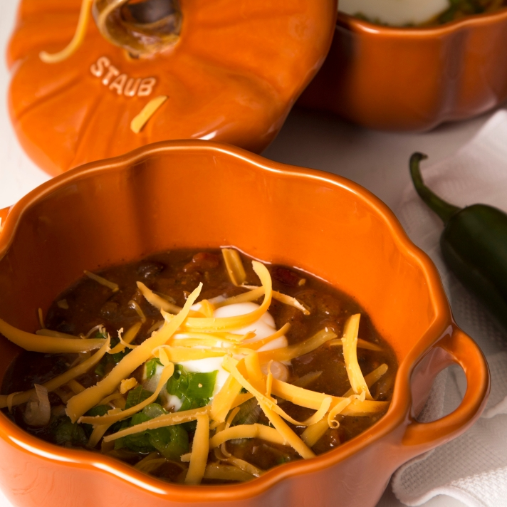 Cozy Up Pumpkin Chili - MousseTaco.com