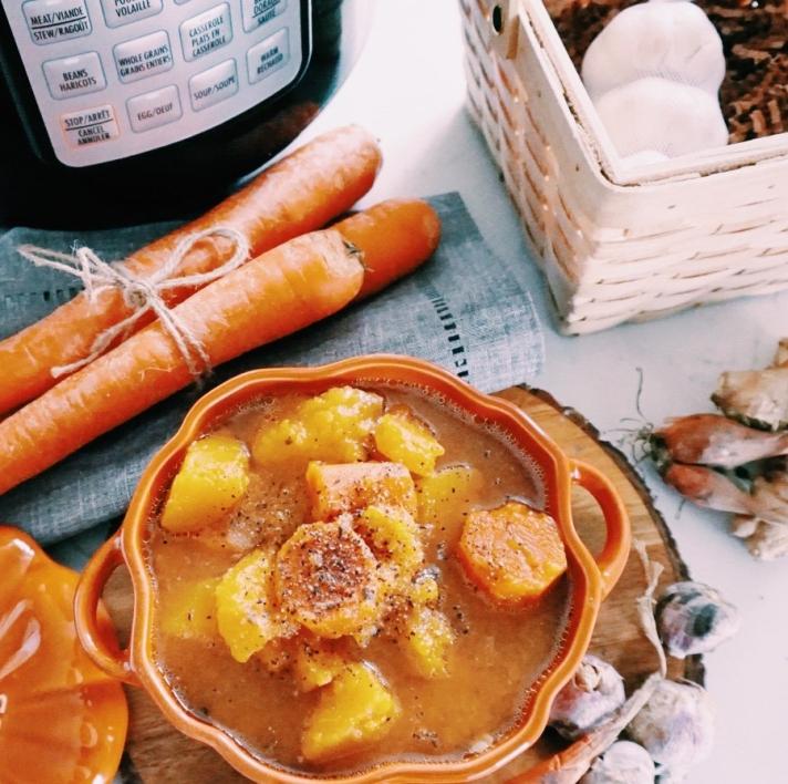 Chunky Butternut Squash Soup - 2